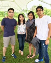 My siblings and I in Tagaytay, when we celebrated my sister's 30th bday!