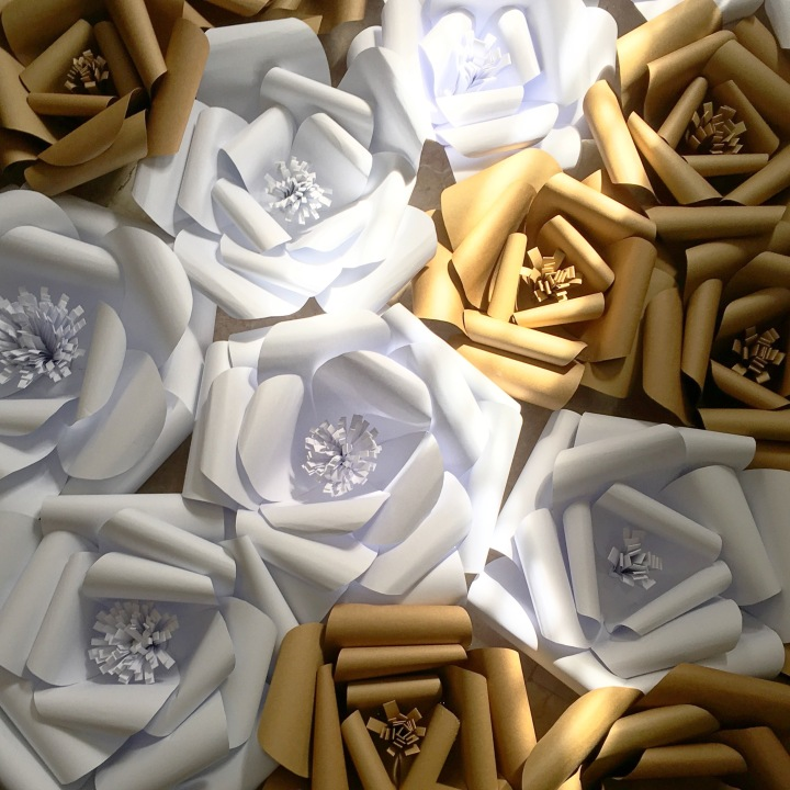 Projects: Giant Paper FlowerWall