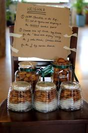 My note for the caterers when I had to leave the reception area to attend the wedding. Ha ha! (Photo by Sarah Mendoza)